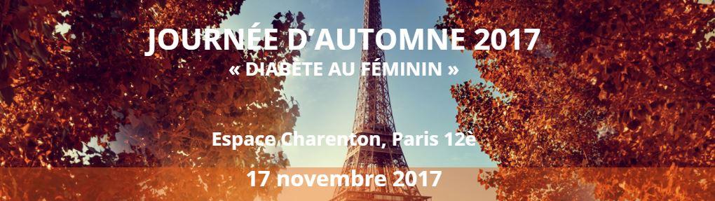 Journée d'automne de la SFD Paramédical : Diabète au féminin