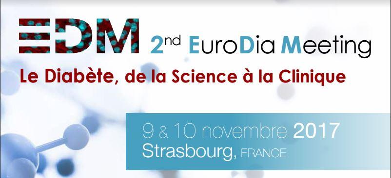 EuroDia Meeting à Strasbourg