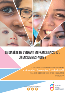 Stand à la journée annuelle de l'Aide aux Jeunes Diabétiques (AJD)